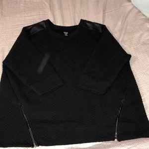 Tops - Black festive sweater Blouse